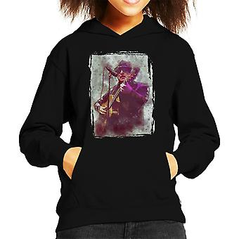 Van Morrison op Paul Jones Charity Concert 2018 jongen de Hooded Sweatshirt