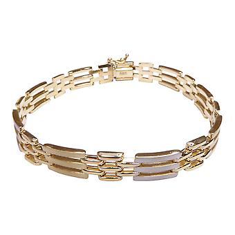 14 Karat bicolor Armband