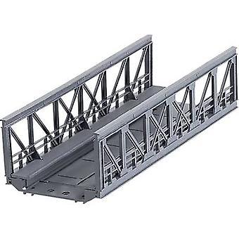 Märklin 074620 H0 fagverksbro 1-rail H0 Märklin C (inkl. spor seng) (L x W x H) 180 x 64 x 45 mm