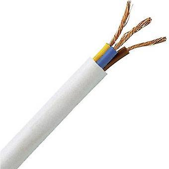 Kopp 151705847 taipuisia kaapeleita H05VV5-F 3 G 1 mm² valkoinen 5 m