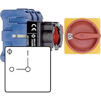 Kraus & Naimer KG10B T202/01 FT2 Isolator switch 20 A 230 V 1 x 90 ° Red, Yellow 1 pc(s)