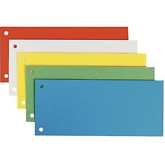 Leitz Divisor 16796099 25 uds/pack Tamaño del producto de cartón (ancho):240 mm Tamaño del producto (altura):105 mm Naranja, Blanco, Azul, Verde, Amarillo 25 ud(s)