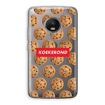 Motorola Moto G5 boîtier Transparent (doux) - Koekerond