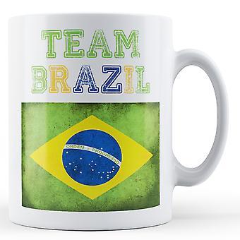 Team Brazil - Printed Mug