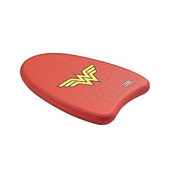 Zoggs Wonder vrouw kinderen zwemmen Trainingsplank rood/geel 3-12 jaar