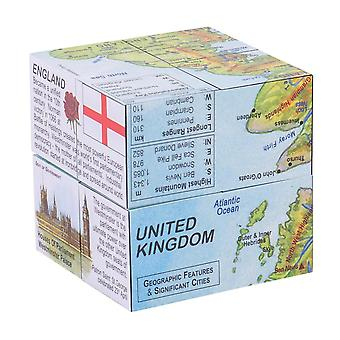 ZooBooKoo Educational United Kingdom Facts & Figures Cubebook Learn