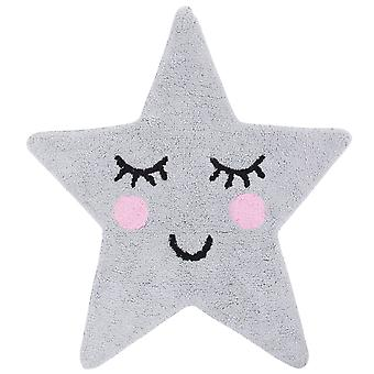 Sass & Belle Sweet Dreams Grey Star Rug