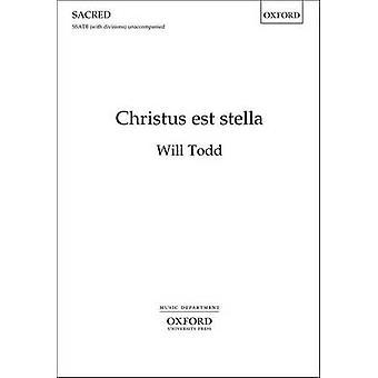 Christus Est Stella - vokal Score av vil Todd - 9780193369061 bok