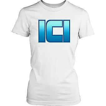ICI - Imperial Chemical Industries Damen T Shirt