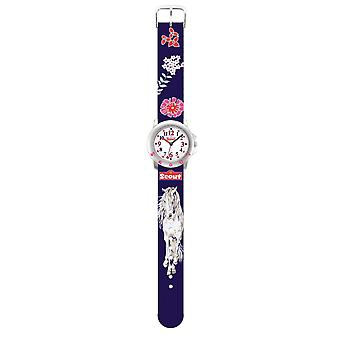 Scout child watch learning Star Kids - flower horses girls 280393006