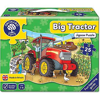 Orchard Toys Tractor grande Jigsaw
