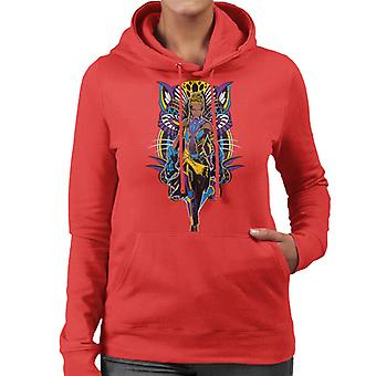Marvel Black Panther Shuri Vibranium Gauntlet Comic Book Women's Hooded Sweatshirt