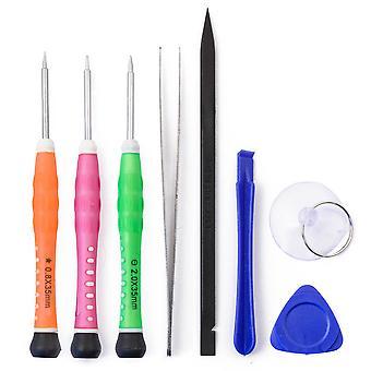 8pcs Kit de herramientas para iPhone todos los modelos - incluye del destornillador y la pinza de Pentelobe