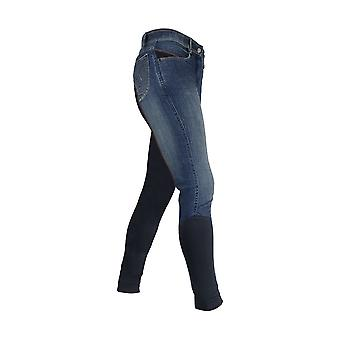 HyPERFORMANCE Womens/Ladies Rugby Denim Breeches