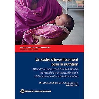 YK: N Cadre d ' Investissement kaada Ko ravitsemus: Atteindre Fes Cibfes Tnondiafes Fi Matiere de Retard de Lissabon, d ' Anemie, d ' Allaitement Maternef ja d' laihtuminen (ohjeet kehittäminen - inhimillisen kehityksen)