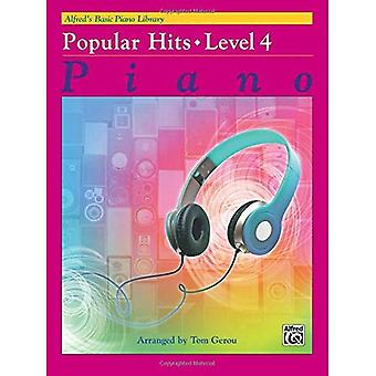 Alfreds Basic Piano Library populaire Hits, Bk 4 (Alfreds Basic Piano Library)