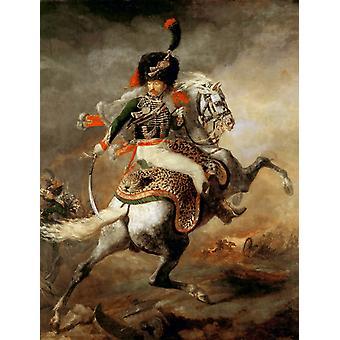 Officier de la Garde Impériale, Théodore Gericault, 50x40cm
