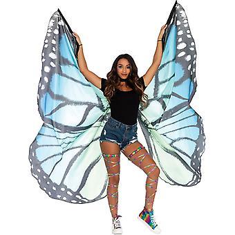 Monarque ailes bleu