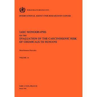 Vol 30 IARC Monographs Miscellaneous Pesticides by IARC