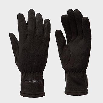 Nieuwe Trekmates Women's touchscreen compatable fleece handschoenen zwart