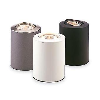Firstlight - 1 Light Uplight Table/Floor Lamp Satin Steel - 5080SS