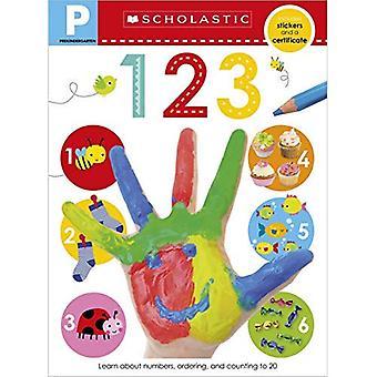 Cahier de compétences pré-K: 123 (apprenants précoces scolastiques)