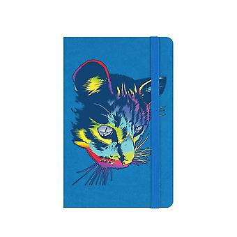 Unorthodox Collective Rainbow Cat A6 Hard Cover Notebook
