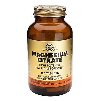 Solgar Magnesium Citrate Tablets, 120