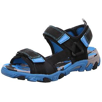 Superfit Boys Henry 101-01 sandalen zwart blauw