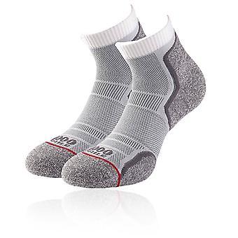 1000 Mile Run Anklet Running Socks (Twin Pack) - AW20