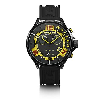 Holler Stax Chrono Yellow Watch HLW2454-1