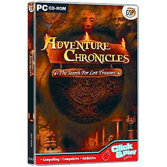 Adventure Chronicles-Søg efter den tabte skat (PC CD)-ny