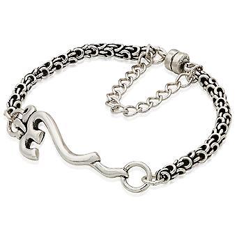 Alex And Ani Om Magnetic Bracelet - Rafaelian Silver