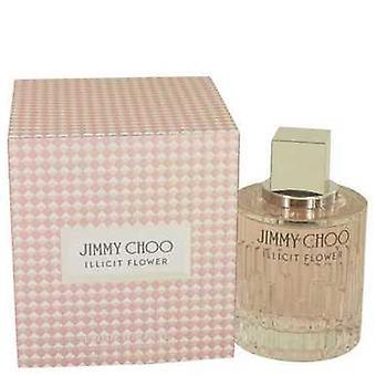 Jimmy Choo olaglig blomma av Jimmy Choo Eau de Toilette Spray 3,3 oz (damer) V728-534531