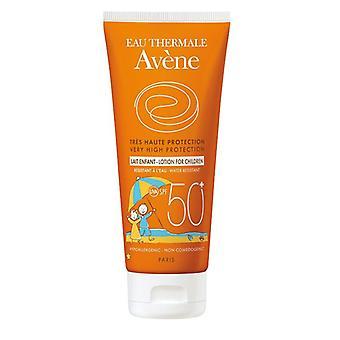 Avene mycket hög skydds lotion för barn SPF50 + 100ml