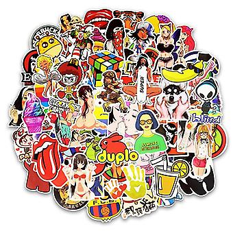 Stickers, 100 pack-Mix #1