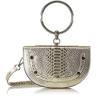 Chicca Bags 1604 Women's shoulder bag Gold 23x15x55 cm (W x H x L)