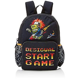Desigual Moch_sailing - Baby Backpacks - Black (Negro) - 13x39.5x31 cm (B x H T)