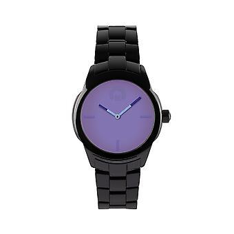 KRAFTWORXS Women's Watch horloge volle maan keramische FML 1GBL