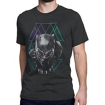 Black Panther Tribal Geometrics Men's T-Shirt