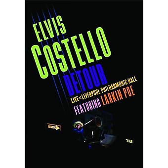 Elvis Costello - Detour Live at Liverpool Philharmonic Hall [DVD] USA import