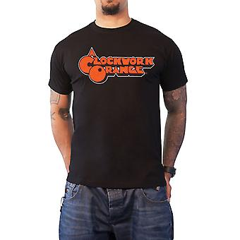 A Clockwork Orange T Shirt classic movie Logo new Official Mens Black