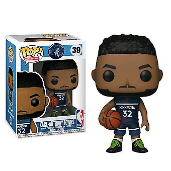 NBA Timberwolves Karl-Anthony Towns Pop! Vinyl
