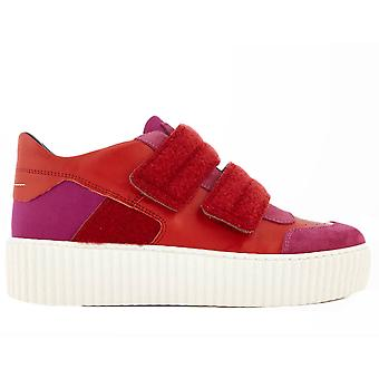 Chunky Double Strap Sneakers