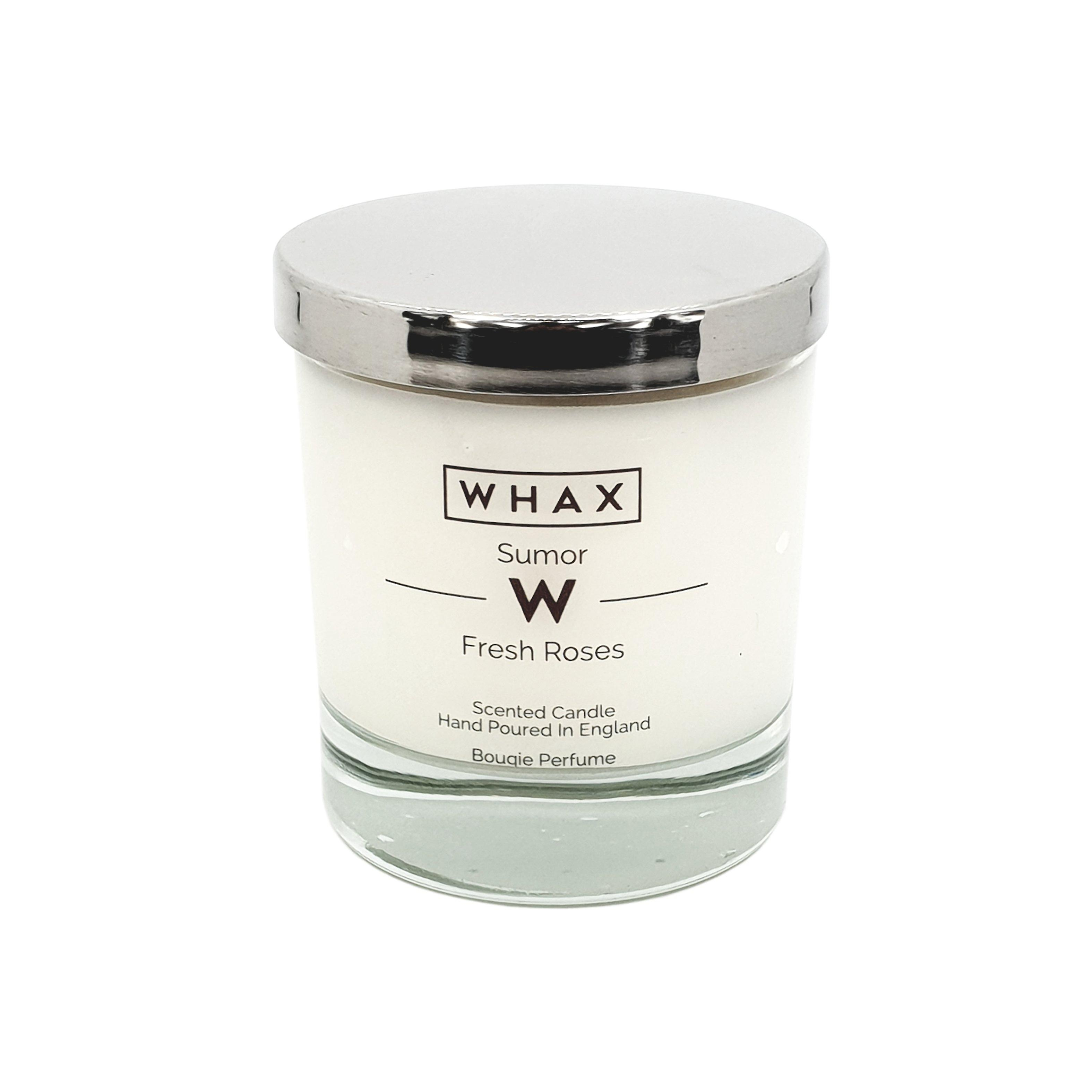 Fresh roses luxury scented candle