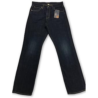 Agave Copper Waterman Westhaven denim jeans in blue