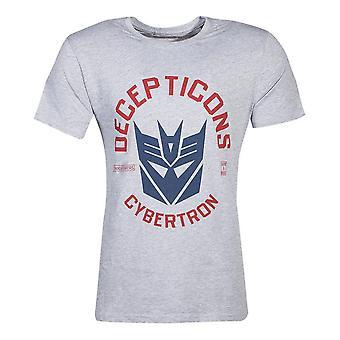 Hasbro Transformatoren Decepticons Cybertron T-Shirt männlich XX-große grau TS077284HSB