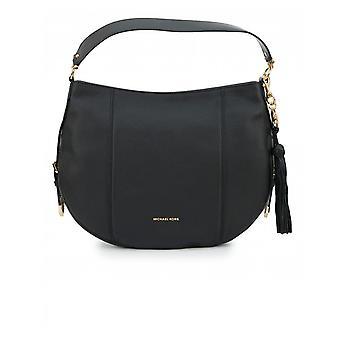 Michael Kors Brooke Soft Leather Tassle Detail Hobo