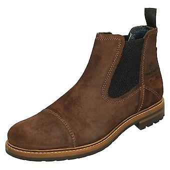 Mens Bugatti Casual Ankle Boots 311-81562-1400