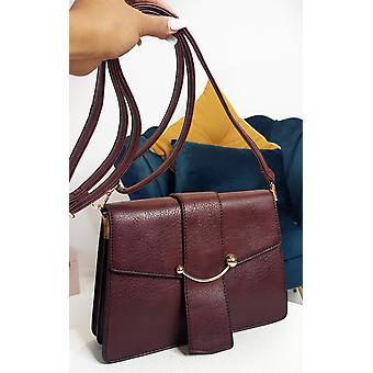IKRUSH Womens Yazzi Faux Leather Handbag